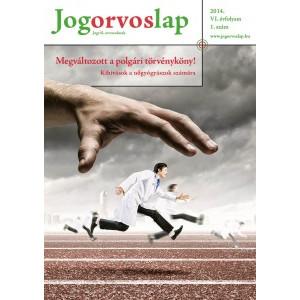 Jogorvoslap 2014/1. szám - Nőgyógyászoknak