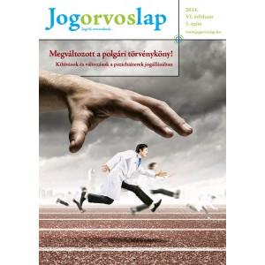 Jogorvoslap 2014/1. szám - Pszichiátereknek