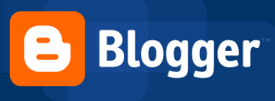 blue blogger logo
